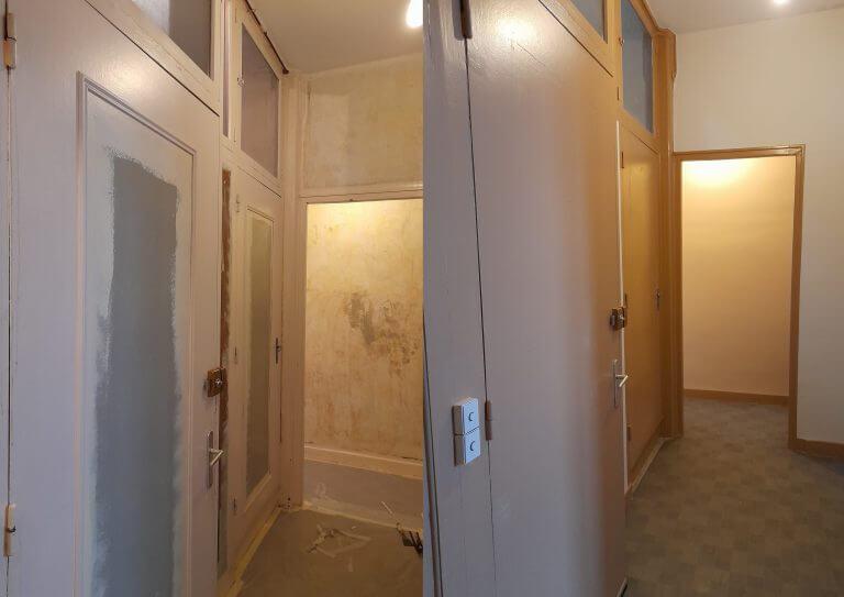 Travaux de peinture d'un hall d'entrée 2