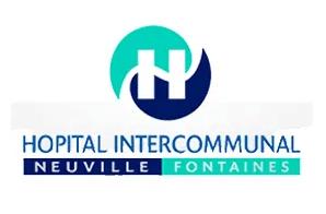 Logo de l'hôpital intercommunal de Neuville-Fontaines